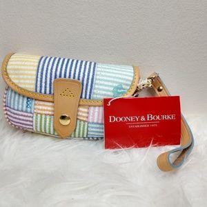 Dooney & Bourke Wristlet Flap Wallet Pastel New